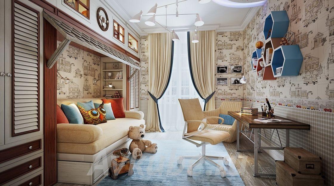 Дизайн квартиры 140 фото 5