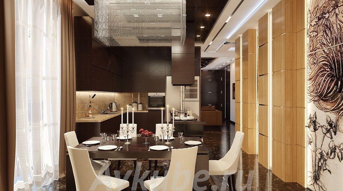Дизайн квартиры 105 фото 1