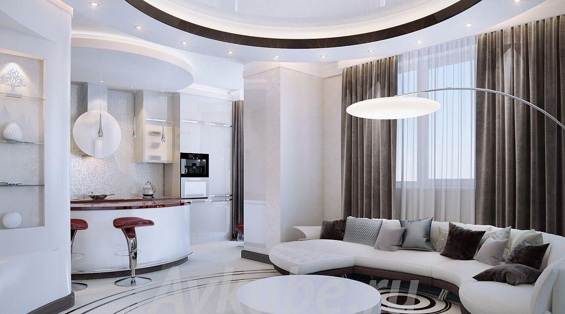 Дизайн квартиры 100 фото 4