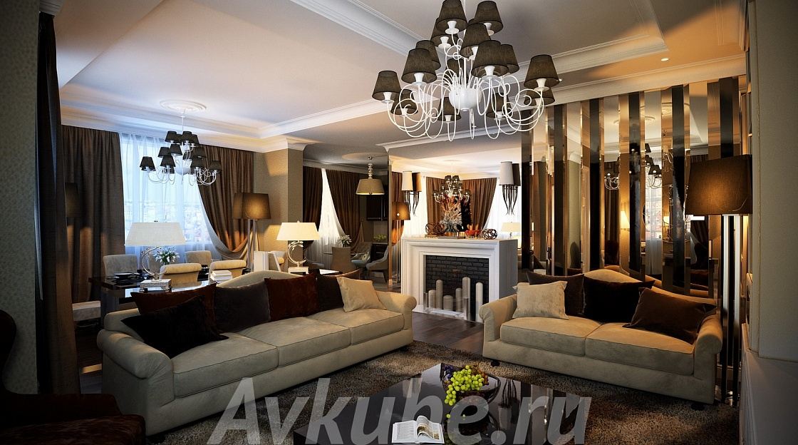 Дизайн квартиры 134 фото 2