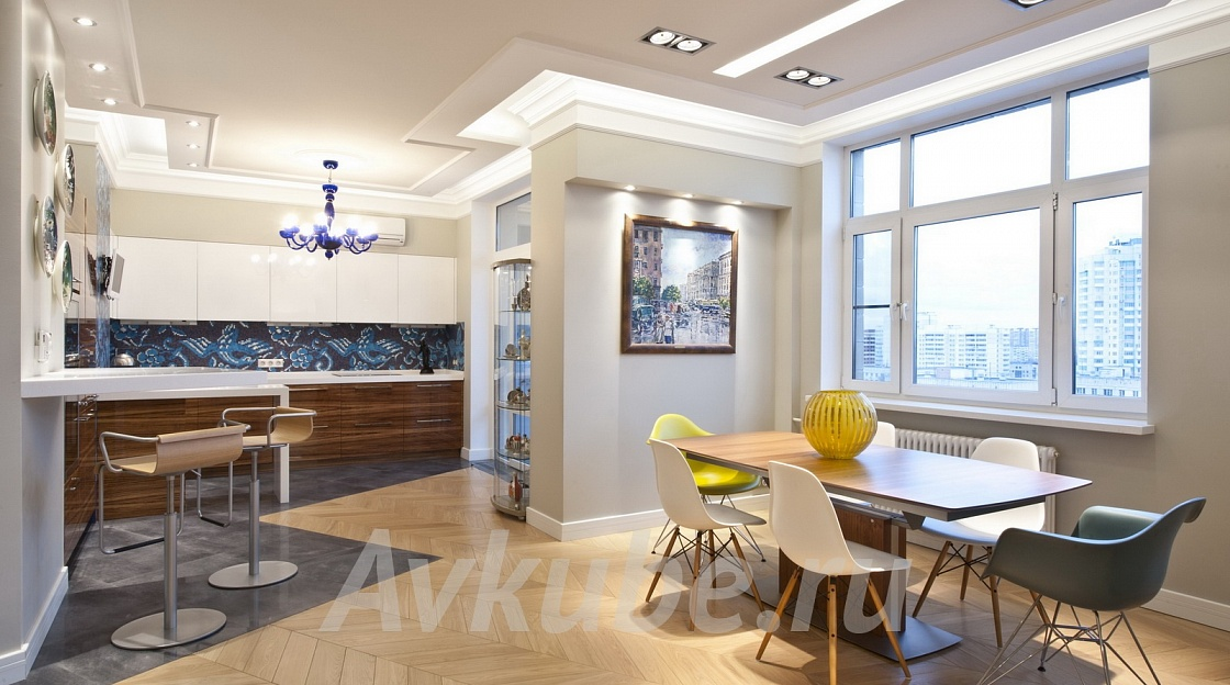 Дизайн квартиры 122 фото 1