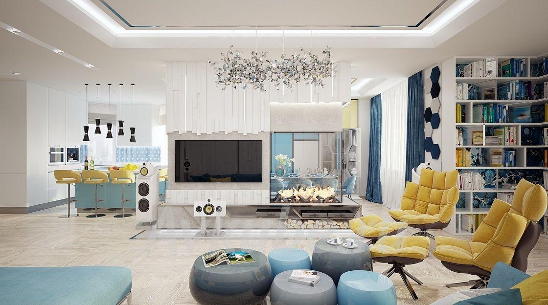 Дизайн квартиры 176 фото 1