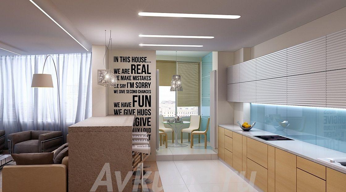 Дизайн квартиры 160 фото 3