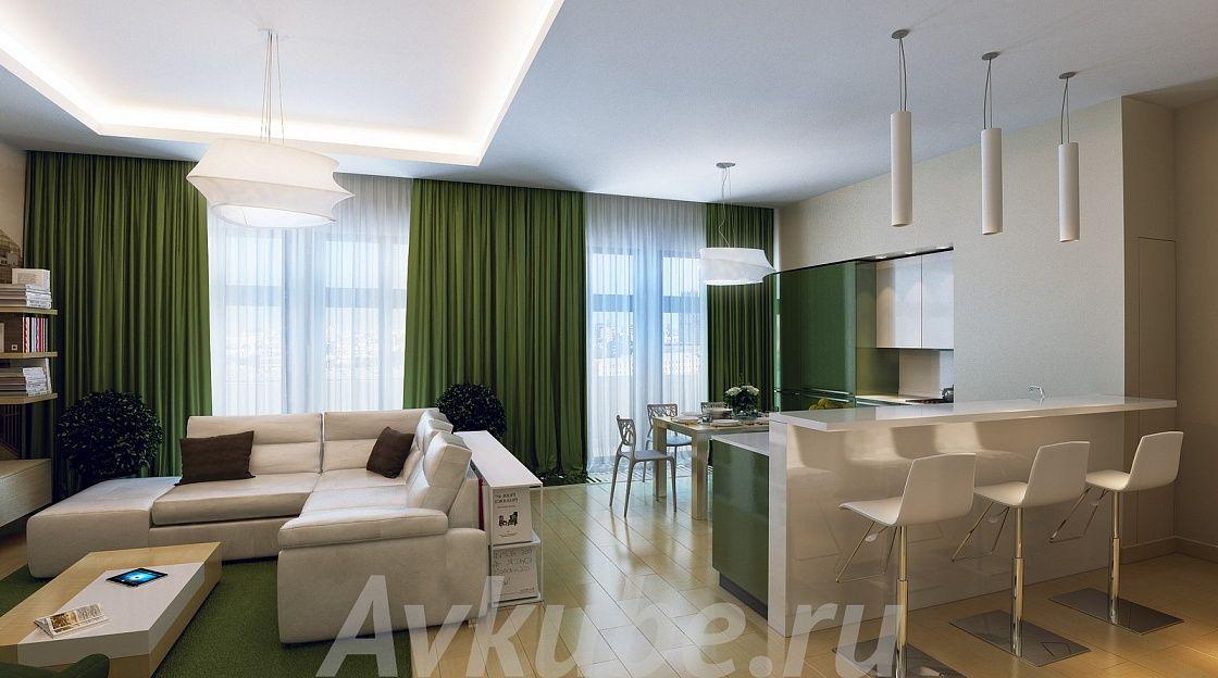 Дизайн квартиры 155 фото 1