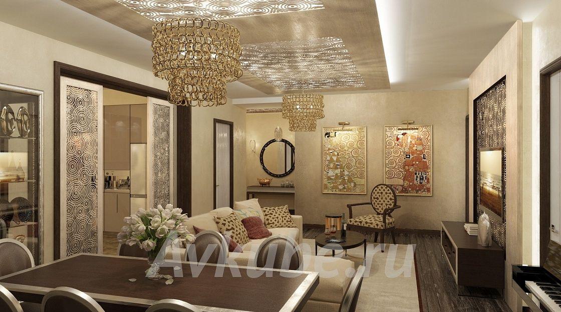 Дизайн квартиры 150 фото 1