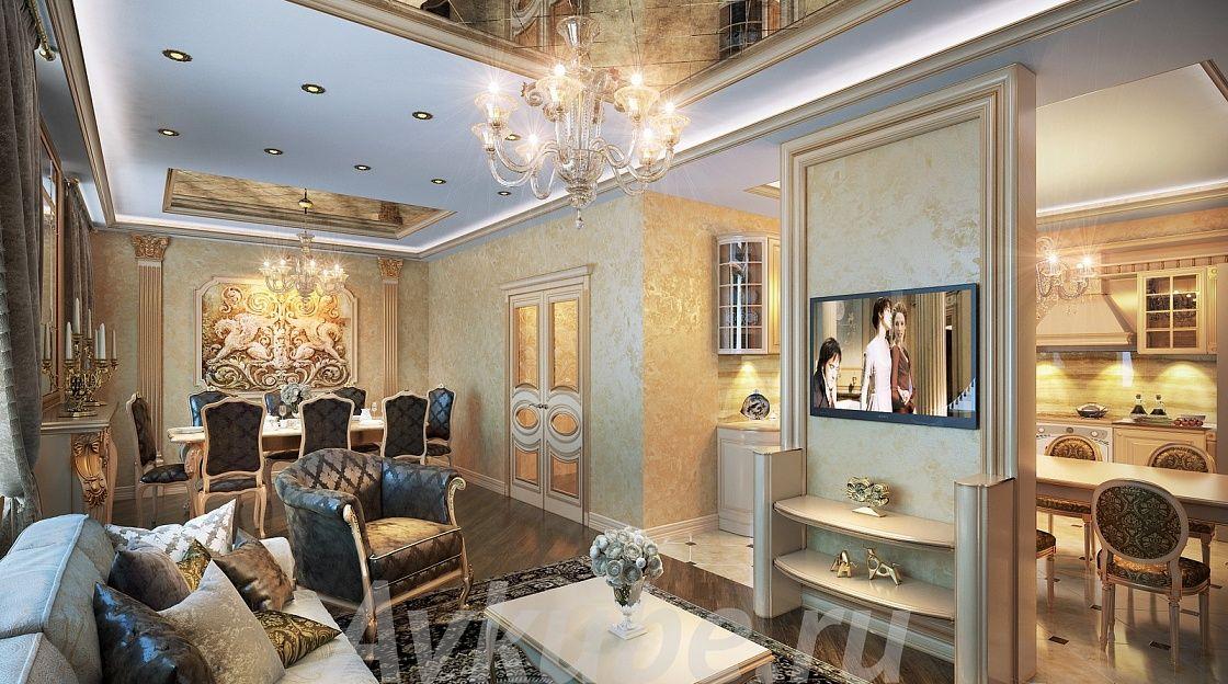Дизайн квартиры 156 фото 1