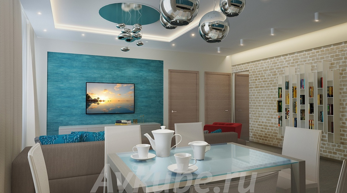 Дизайн квартиры 66 фото 2