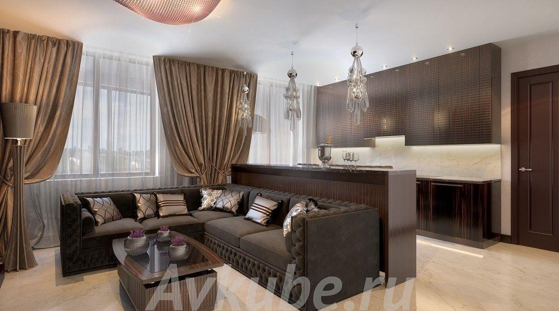 Дизайн квартиры 136 фото 5