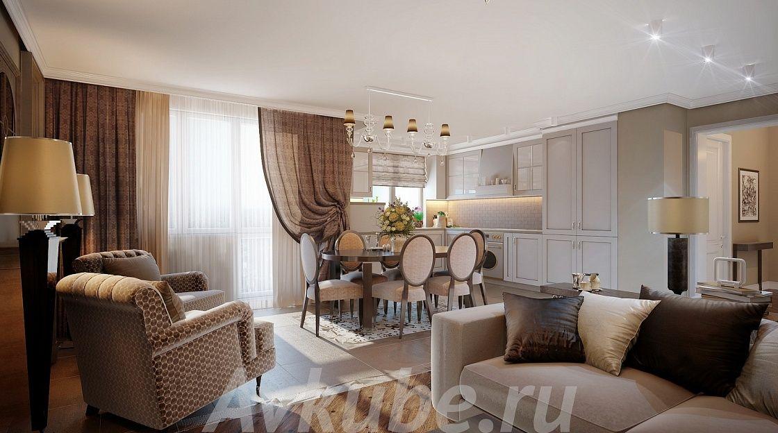 Дизайн квартиры 163 фото 2