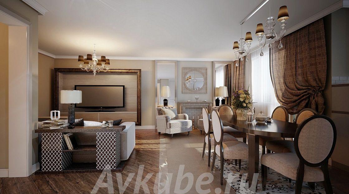 Дизайн квартиры 163 фото 1