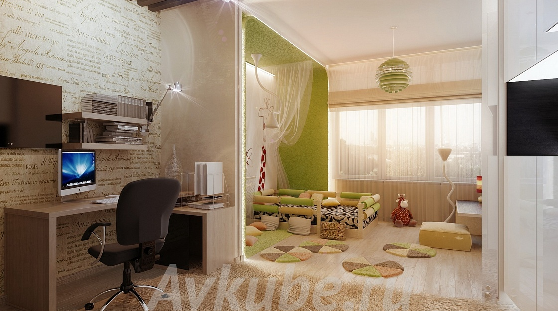 Дизайн квартиры 133 фото 3