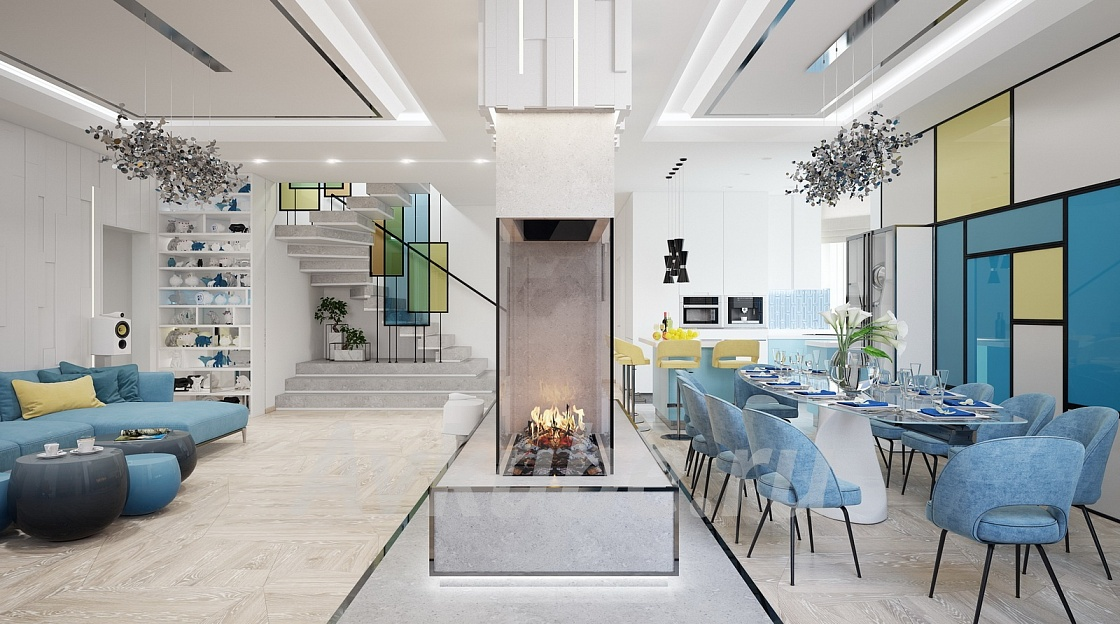 Дизайн квартиры 176 фото 2