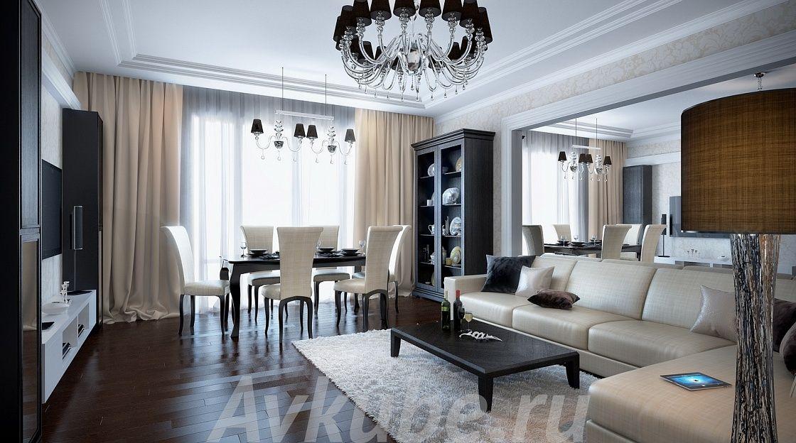 Дизайн квартиры 158 фото 1