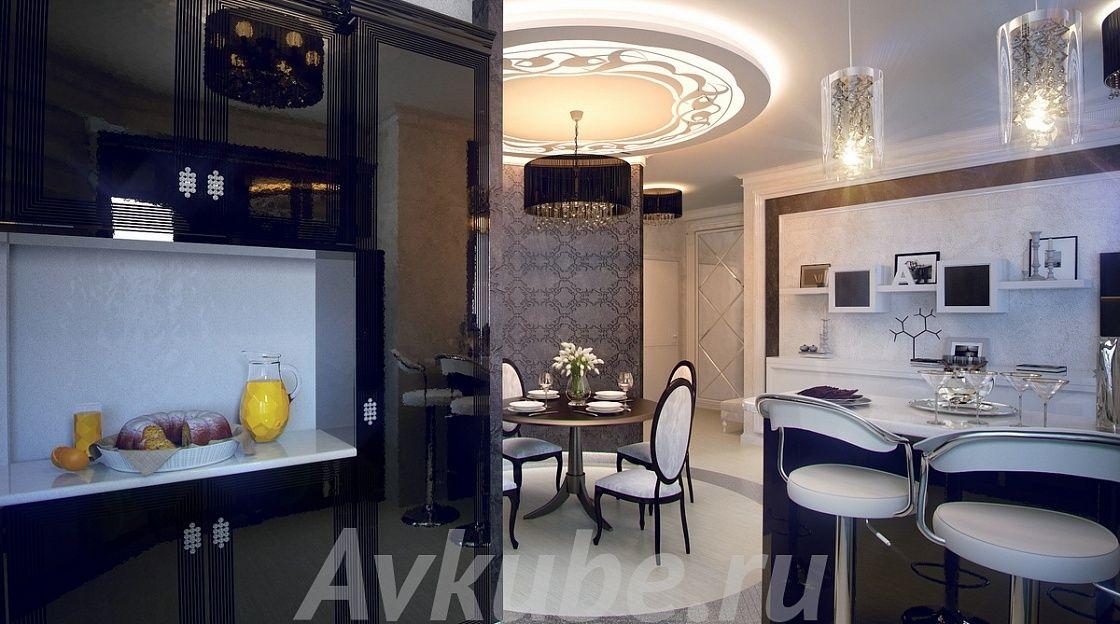 Дизайн квартиры 108 фото 3