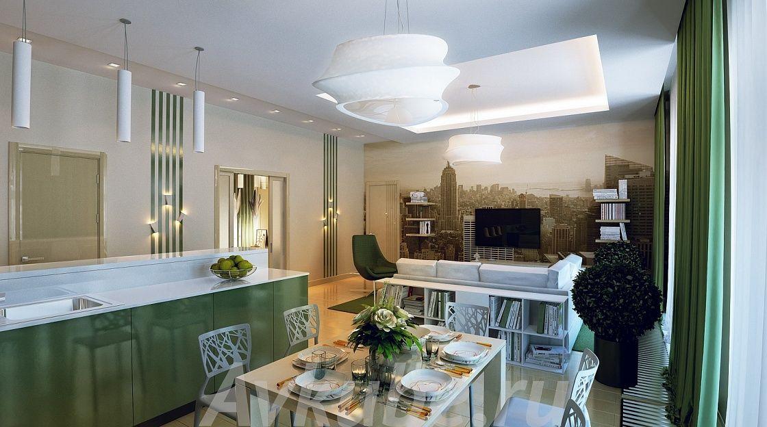 Дизайн квартиры 155 фото 2