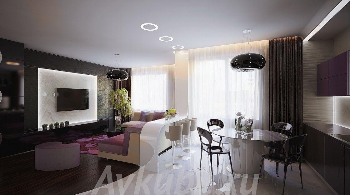 Дизайн квартиры 133 фото 4