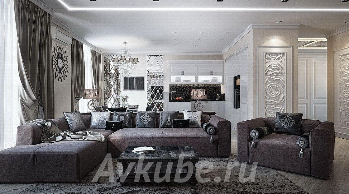 Дизайн квартиры 85 фото 1