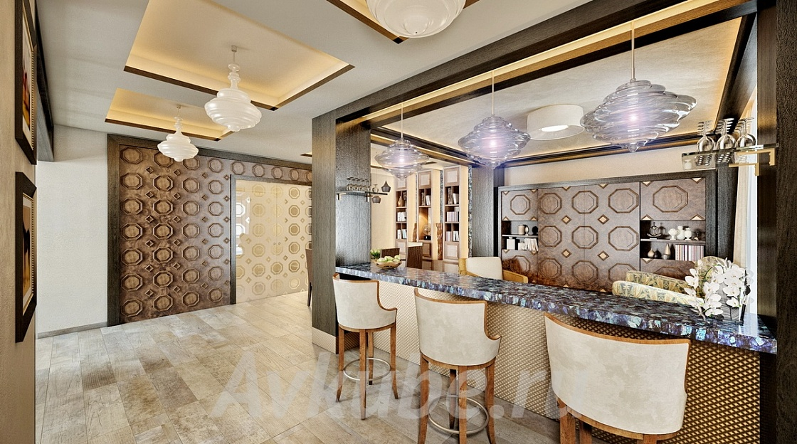 Дизайн квартиры 90 фото 2