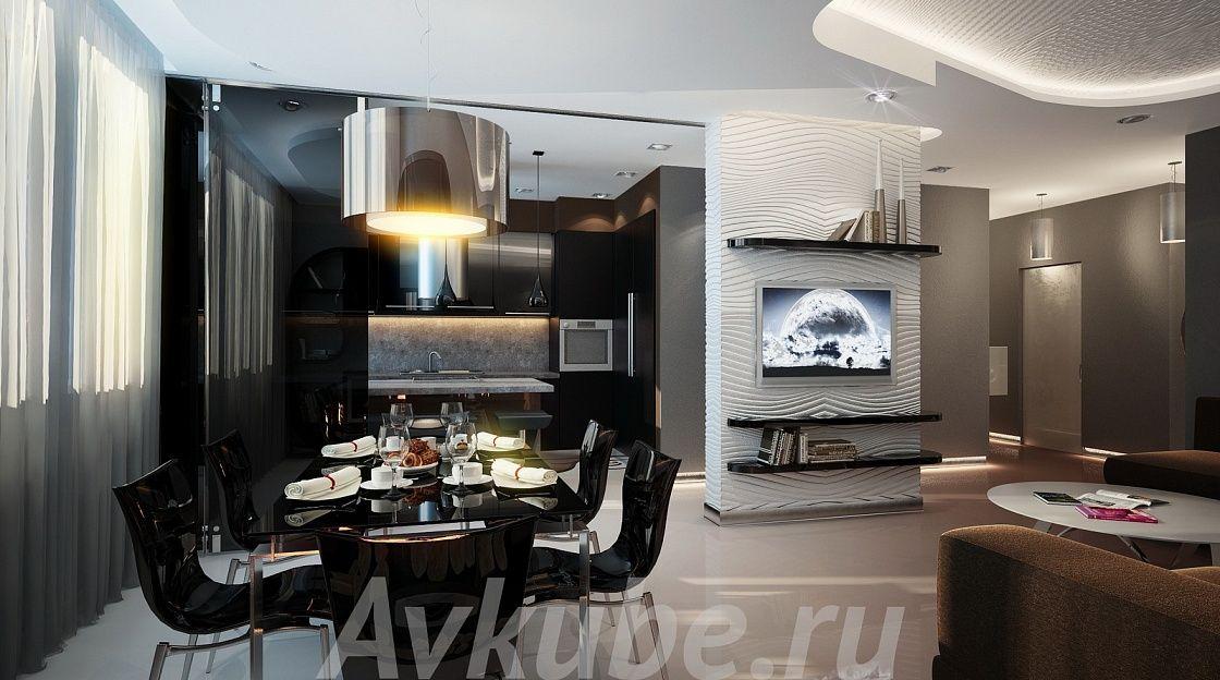 Дизайн квартиры 97 фото 2