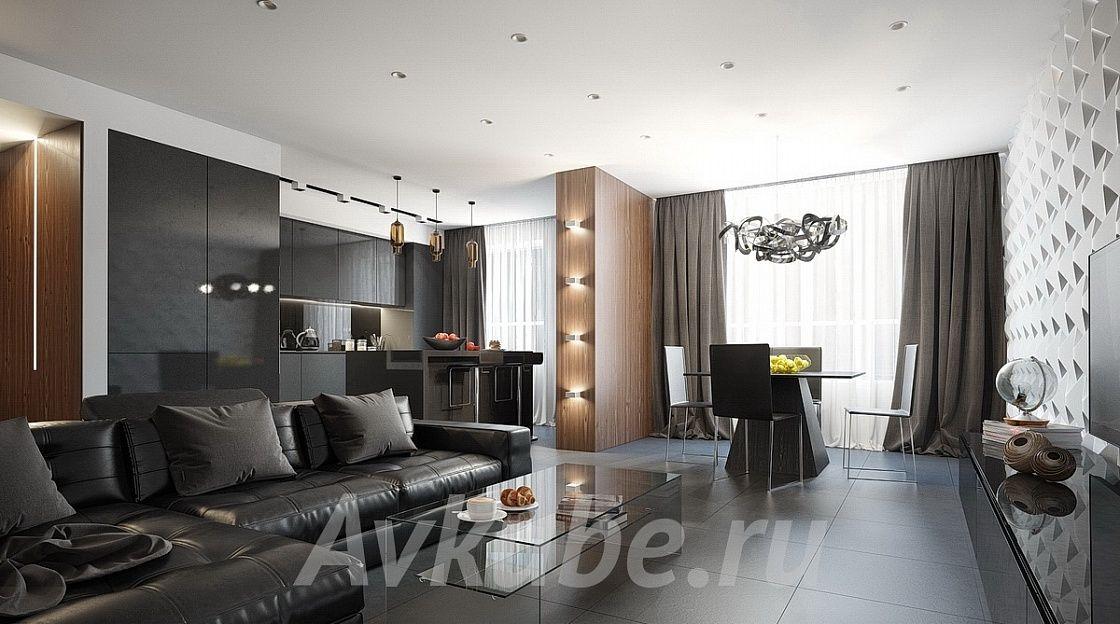 Дизайн квартиры 84 фото 3