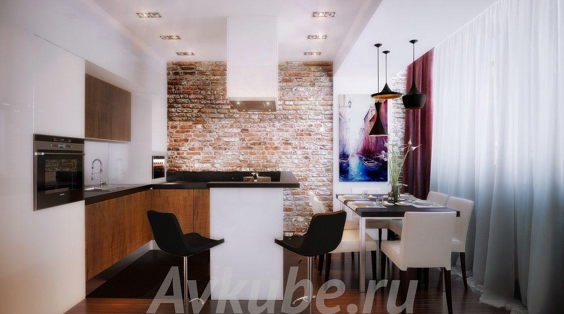 Дизайн квартиры 107 фото 3