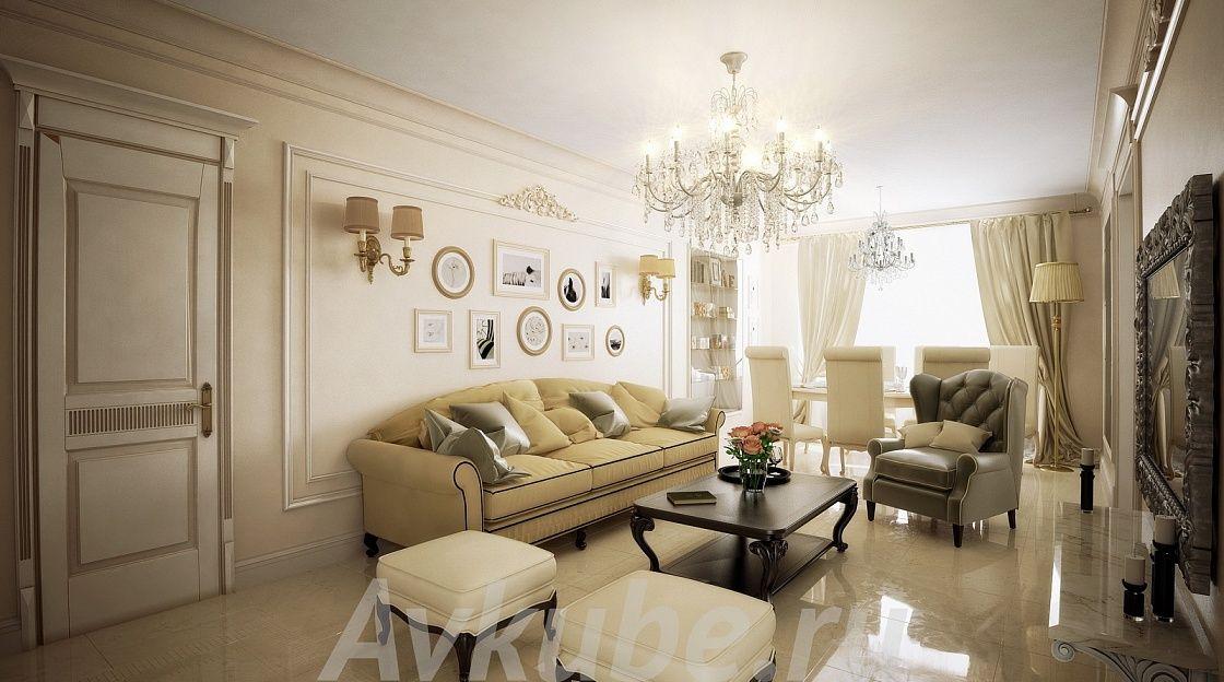 Дизайн квартиры 96 фото 3