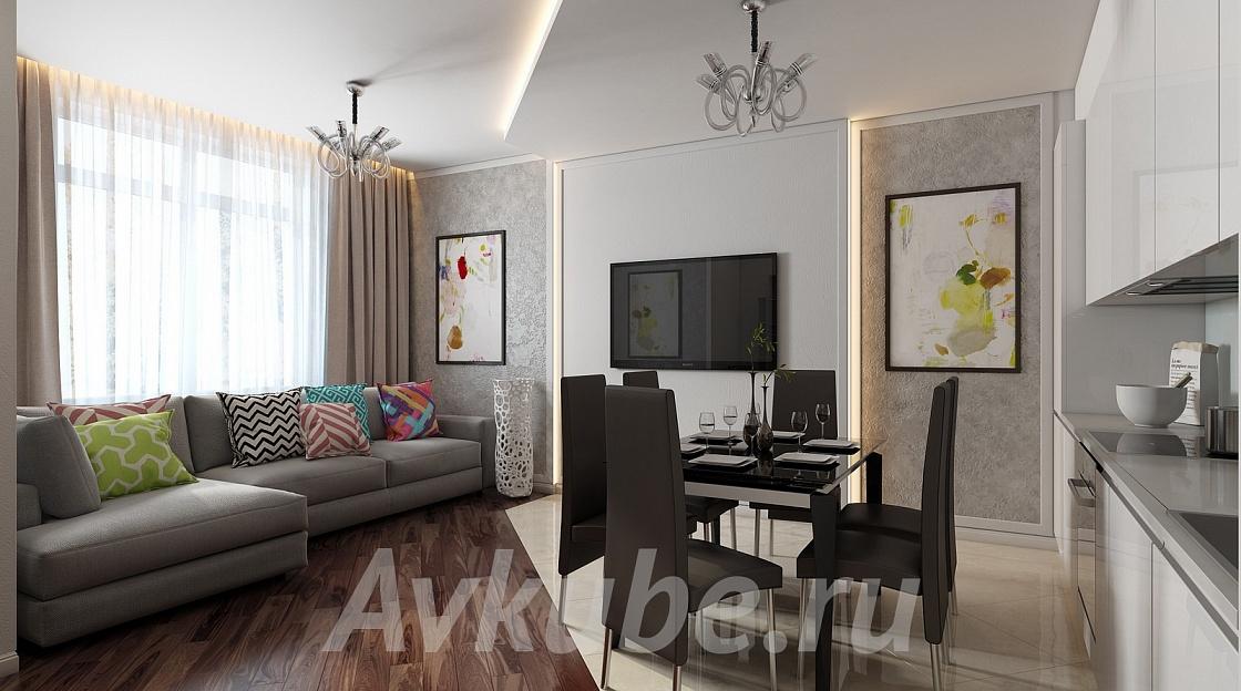 Дизайн квартиры 35 фото 1