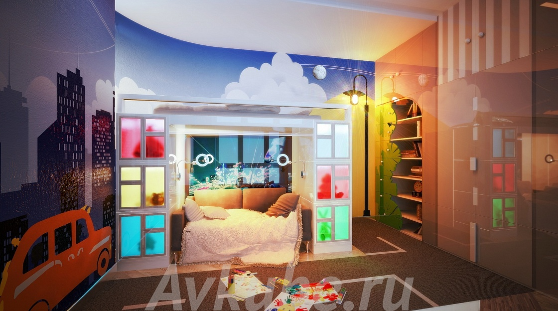 Дизайн квартиры 144 фото 5