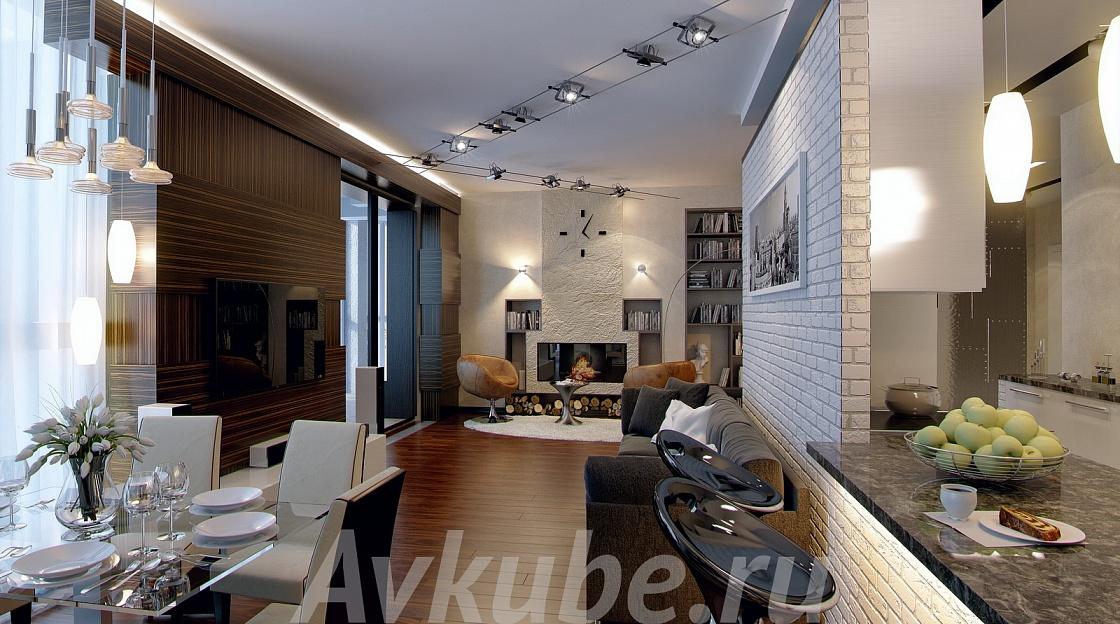 Дизайн квартиры 6 фото 2