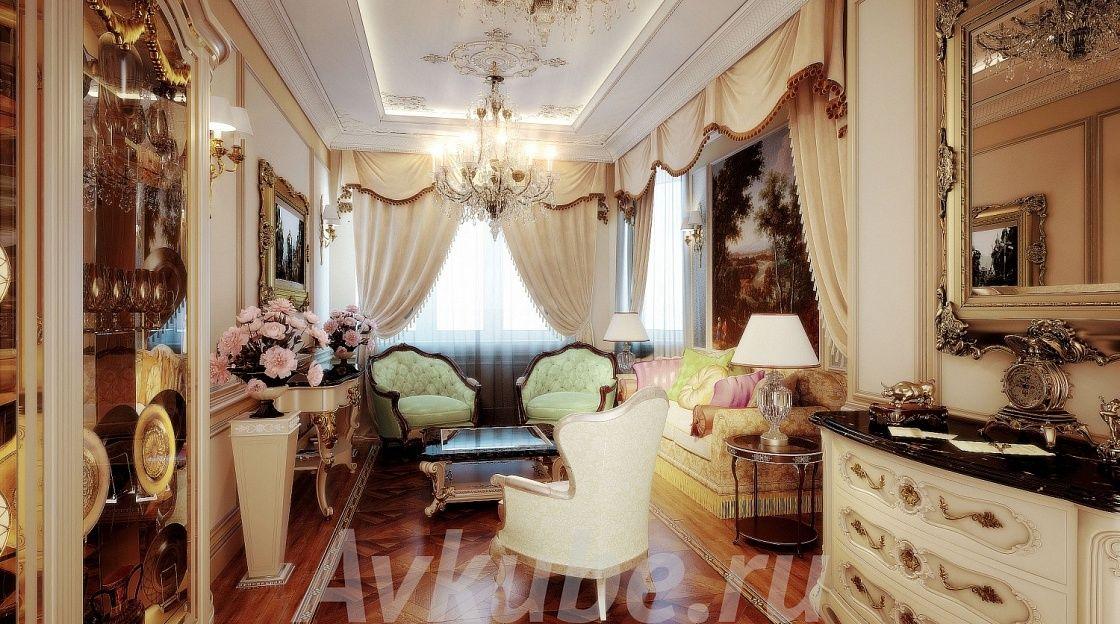 Дизайн квартиры 130 фото 1
