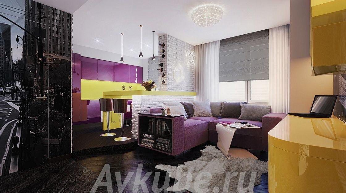 Дизайн квартиры 132 фото 4