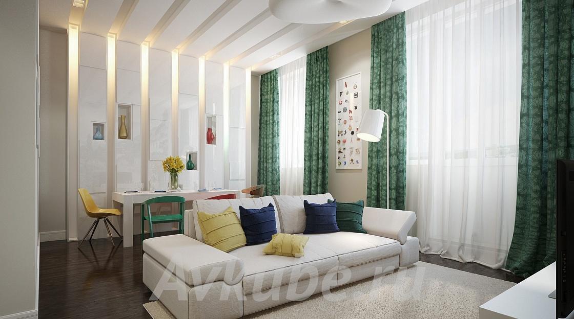 Дизайн квартиры 40 фото 1